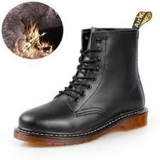 European and American fashion winter new leather Martin ... - Vova