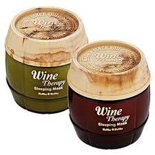 Buy Holika <b>Holika</b> - <b>Wine Therapy Sleeping</b> Mask 120ml (2 Flavors ...