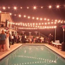 image backyard wedding lighting