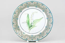 <b>Декоративная тарелка</b> рис. Ландыш майский (<b>27</b> см)