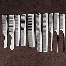 Neverland <b>10 Pcs</b> Professional Hair Comb Set, Hairdressing Plastic ...
