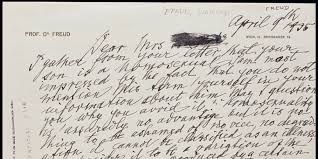 unearthed letter from freud reveals his thoughts on gay people unearthed letter from freud reveals his thoughts on gay people the huffington post