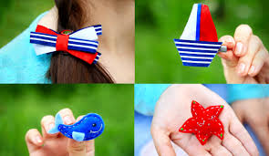 DIY <b>Small Hair Clips</b> for <b>Girls</b> - YouTube