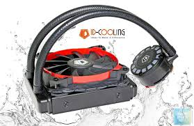 Обзор и тест системы <b>водяного охлаждения ID</b>-<b>COOLING</b> ...