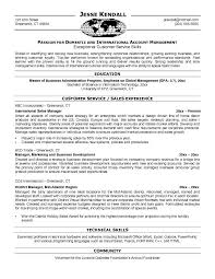 Example International Sales Resume - Free Sample Best Executive Services:
