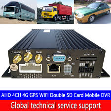 Italian wholesale <b>AHD 4CH SD Card</b> Mobile DVR OEM/ODM PAL ...