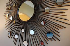 mirror wall decor circle panel: dining room wall decorations for mirror decor with mirrors table round dining room table decorating ideas