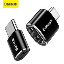 <b>Baseus</b> USB <b>Male</b> to <b>Type C</b> Female Cable OTG Adapter Converter ...