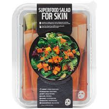 <b>Superfood Salad Face</b> Mask - CARROT (7 Mask) by Farm Skin at ...