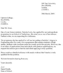 letter of reference template  recommendation letter template  letters of recommendation for students crna cover letter