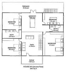 House Plans PhilippinesLuxury residential house floor plan