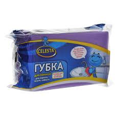 """<b>Губка</b> для мытья <b>ванной</b> """"Celesta"""", цвет: фиолетовый"""