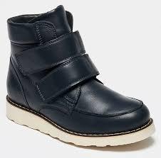 Ботинки <b>BROS</b>-<b>D</b> (цвет синий, натуральная кожа) — купить по ...
