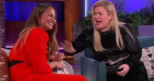 Chrissy Teigen on John Legend on Kelly Clarkson Show Video ...