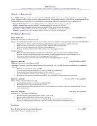 cover letter sample executive summary for resume sample executive executive summary resume example of professional summary for resume