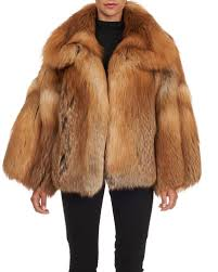 real fox fur coat slim womens winter natural single breasted leather short fashion warm jacket04