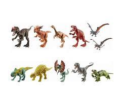 <b>Mattel Jurassic</b> World <b>Фигурки</b> динозавров Атакующая стая ...