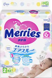 <b>Подгузники MERRIES S 4-8 кг</b> – купить в сети магазинов Лента.