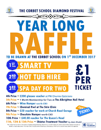 news the corbet school diamond festival year long raffle prizes