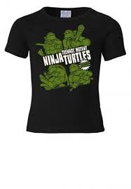 "Детская <b>футболка</b> ""<b>Ninja</b> Turtles"" Logoshirt - <b>черный</b> цвет ..."