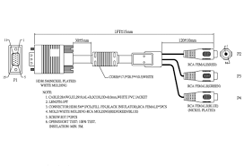 vga to rca connection diagram   wiring schematics and diagramsvga to rca cable schematic