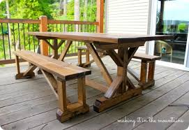 pottery barn style dining table: pottery barn farmhouse dining table pottery barn table knockoff making it in the mountains