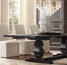 dining table leaf hardware: salvaged wood trestle extension dining table quot table quotl x quot