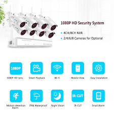<b>Zoohi Wireless Surveillance System</b> Kit 1080P 2MP HD WIFI ...