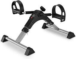 MOMODA Stationary Cycle Pedal Exerciser Desk <b>Exercise Bike with</b> ...