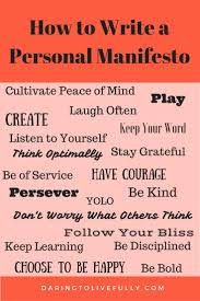 best ideas about core values matthew bible life a personal manifesto is a declaration of your core values and beliefs here s how to