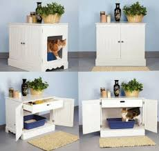 amazoncom pet studio litter box cabinet for pets newport white cat litter box furniture pet supplies cat litter box covers furniture