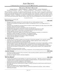 apartment manager resume examples resume examples  apartment manager resume link to file residential