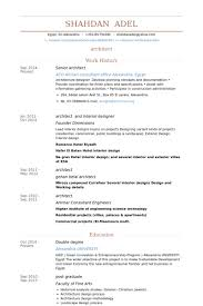 senior architect resume samples   visualcv resume samples databasesenior architect resume samples