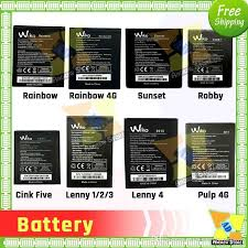 2500mah wiko 2520 battery for batterie bateria