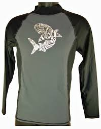 maui wear 498m men s long sleeve quality rash guard 2 tone zises maui wear 498m men s long sleeve quality rash guard 2 tone zises l xl