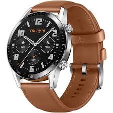 <b>Смарт</b>-<b>часы Huawei Watch GT</b> 2 Pebble Brown Hybrid Strap (LTN ...