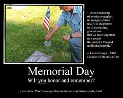 Memorial Day Resources 2015