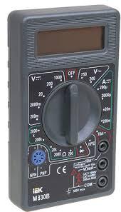 <b>IEK Мультиметр цифровой Universal</b> M830B — купить оптом в ...