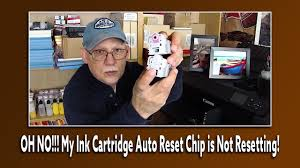 OH NO!!! My Ink Cartridge <b>Auto Reset Chip</b> is Not Resetting ...