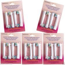 <b>20pcs Replacement Electric</b> Tooth <b>Brush Heads</b> for Braun Oral-B ...