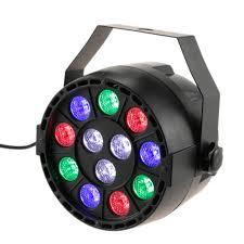 Lixada <b>DMX-512 RGB</b> LED High Power Stage PAR Light Lighting ...
