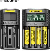 ᗚ100% <b>Original Nitecore</b> UM4 UM2 USB QC Battery Charger ...