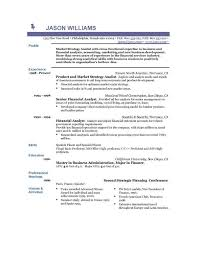 sample resume template for experienced professional   resume    sample resume template for market strategy analist   experience