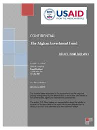 afghan investment fund