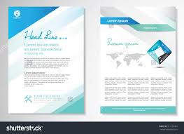 royalty vector brochure flyer design layout 311592905 stock vector brochure flyer design layout template size a4 front page and back page