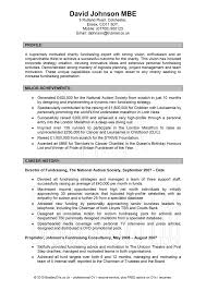 profile on resume example  tomorrowworld coprofile on resume example receptionist resume example for profile   experience and education