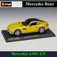 <b>Bburago</b> 1:32 Mercedes AMG-GT моделирование сплава <b>Модель</b> ...