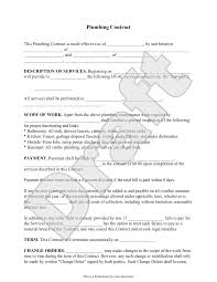 plumbing contract template independent contractor agreement form plumbing contract template independent contractor agreement form independent contractor contract sample