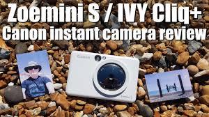 <b>Canon Zoemini S</b> IVY Cliq+ INSTANT <b>CAMERA</b> review vs INSTAX ...
