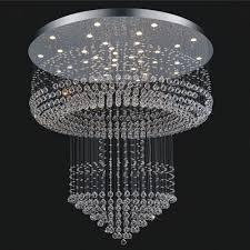 China Luxury Hotel Project <b>Lighting Crystal LED Chandelier</b> ...